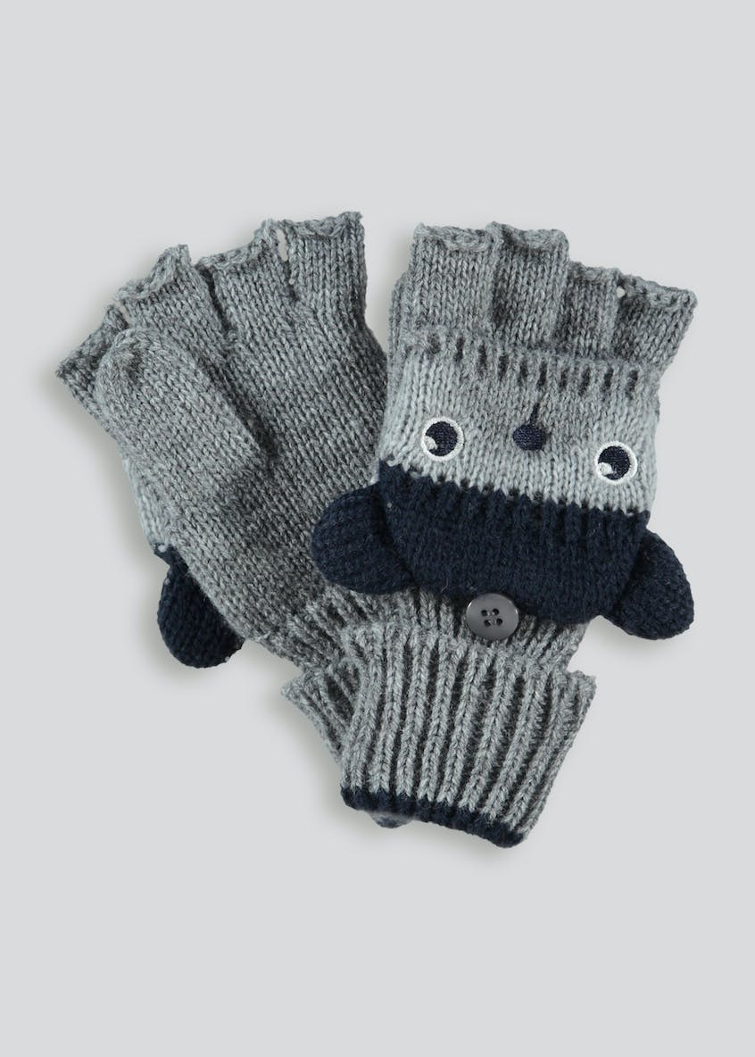 Kids 3D Bear Mittens (2-4yrs)