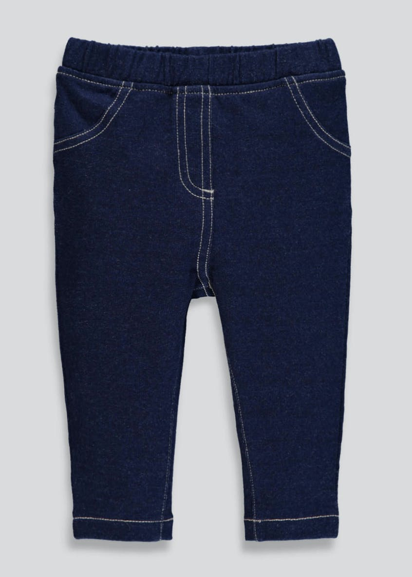 Girls Denim Jeggings (Tiny Baby-18mths)