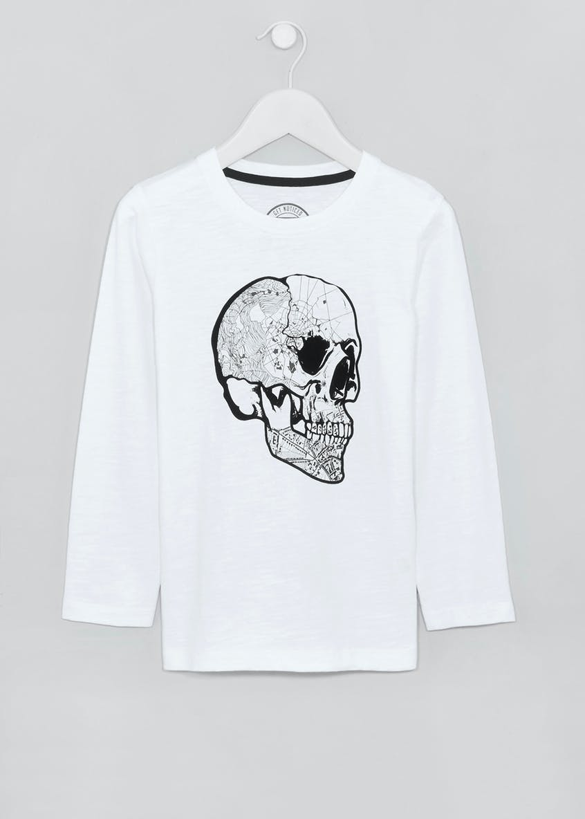 Boys Skull T-Shirt (4-13yrs)