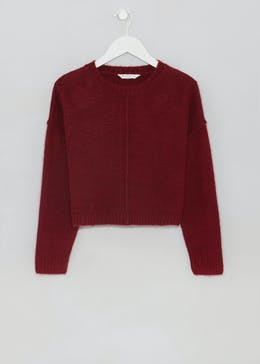 Girls Candy Couture Oversized Cropped Knit (9-16yrs)