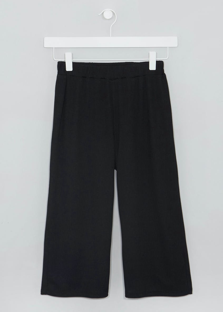 Girls Candy Couture Ribbed Jersey Culottes (9-16yrs)