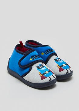 Kids Co-Ord Monster Hero Slippers (Younger 4-12)