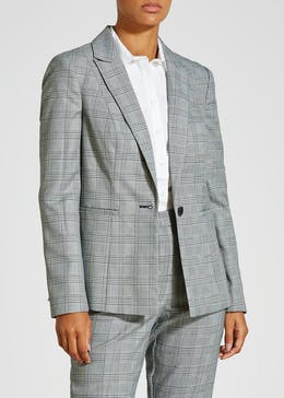 Check Suit Jacket