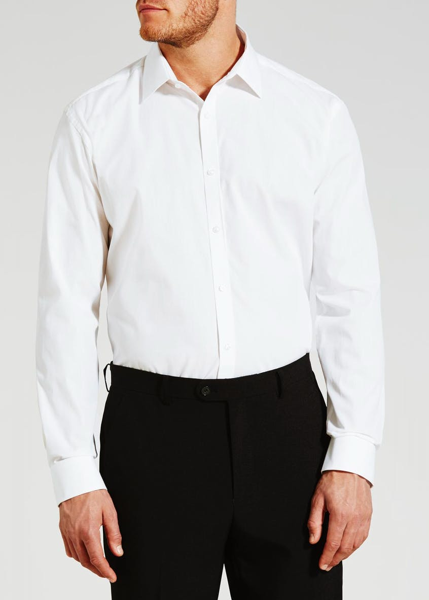 Easy to Iron Cotton Slim Fit Poplin Shirt