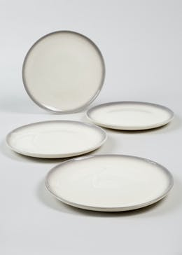 4 Pack Ombré Dinner Plate 27cm