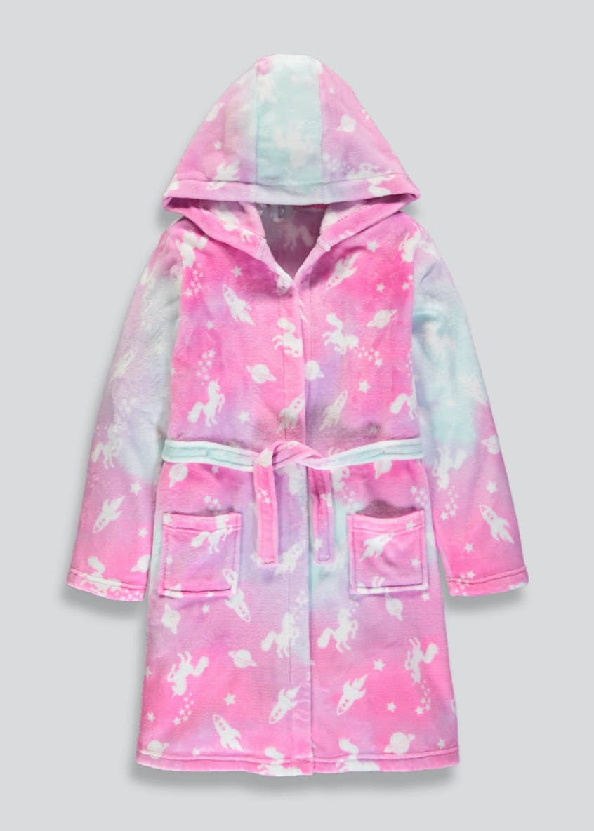 Kids Unicorn Dressing Gown (4-13yrs)