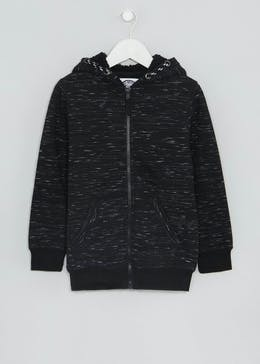 Boys Borg Lined Zip Through Hoodie (4-13yrs)