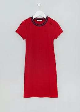Girls Candy Couture Ribbed Midi Dress (9-16yrs)