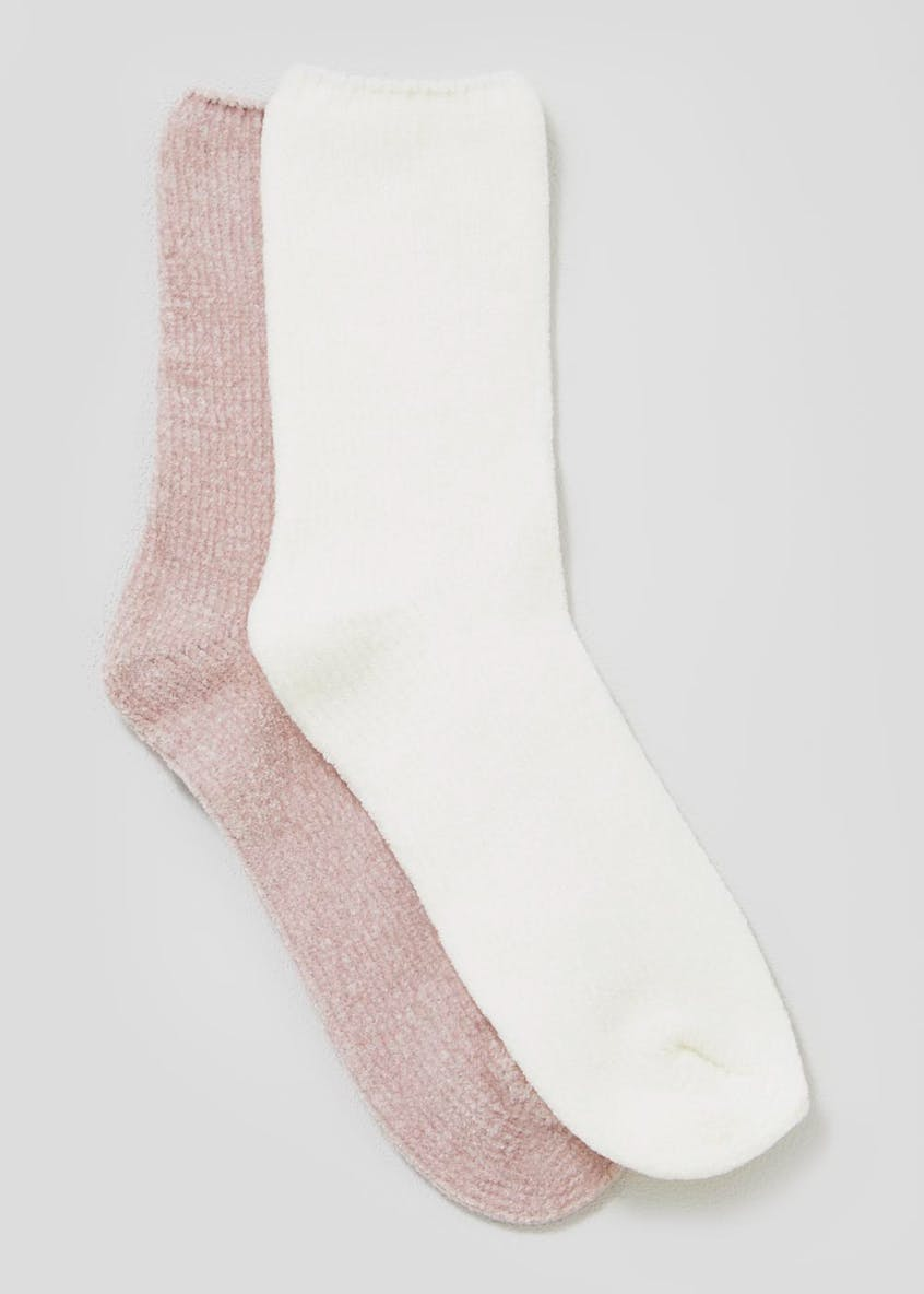 2 Pack Super Soft Chenille Socks
