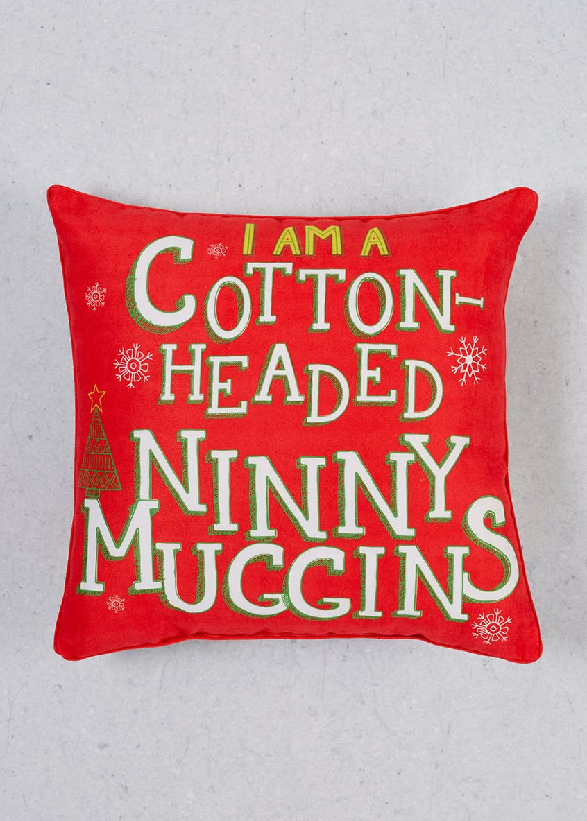 Elf Christmas Cushion
