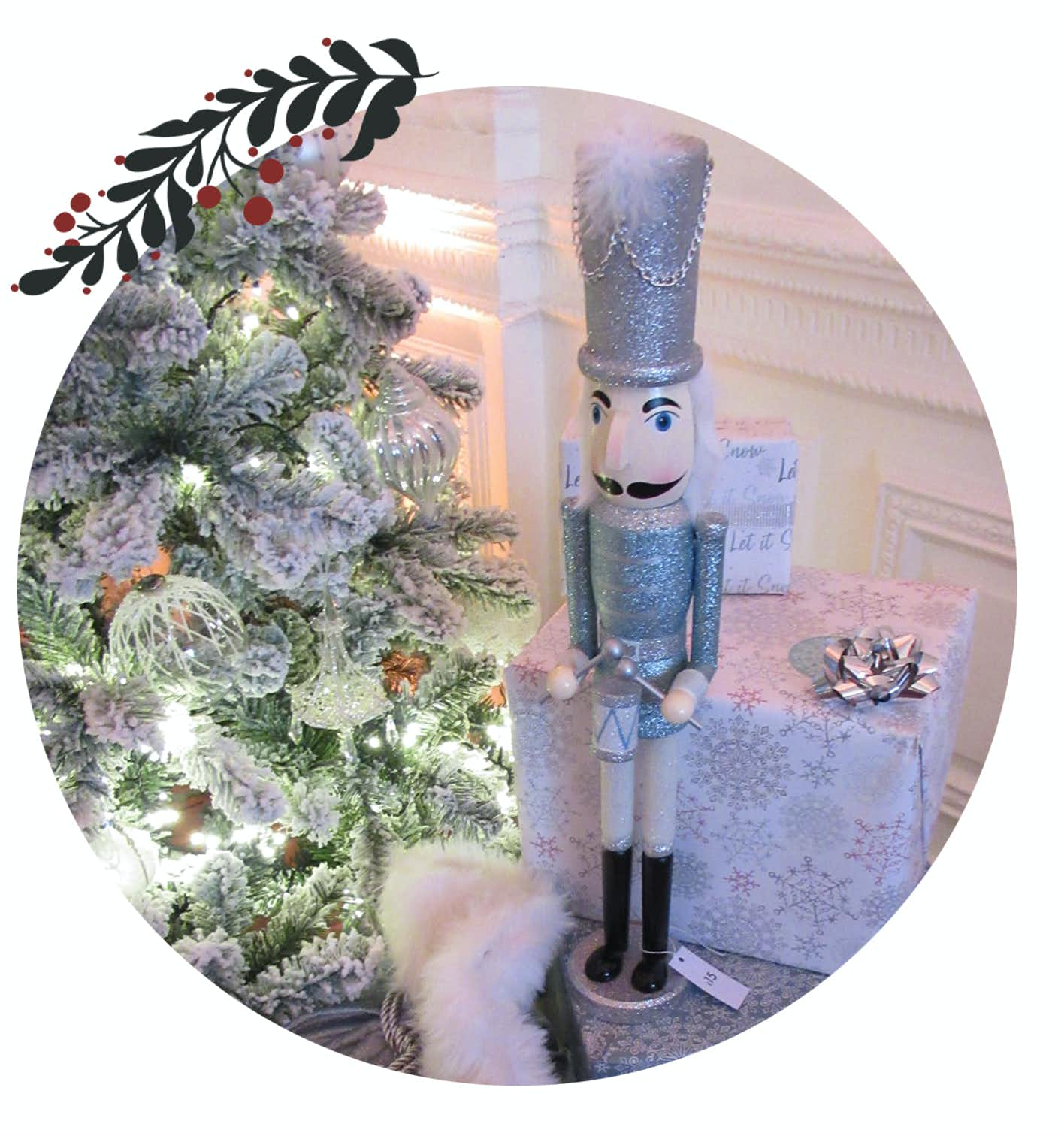 Nutcrackers Are Set To Be Big Again This Year Tall Countdown Nutcracker Is My Favourite With His Glittery Coat And Cute Number Blocks Hes Sure