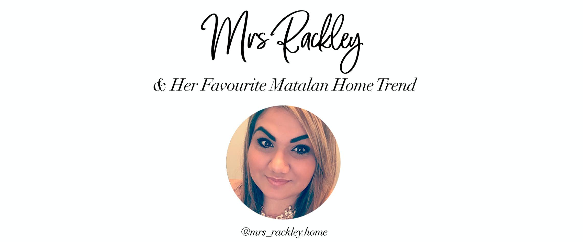 We Let Christams Obsessed Instagram Star Mrs Rackleyhome Loose On Our New Festival Collection To Pick Out Her Favourite Trends