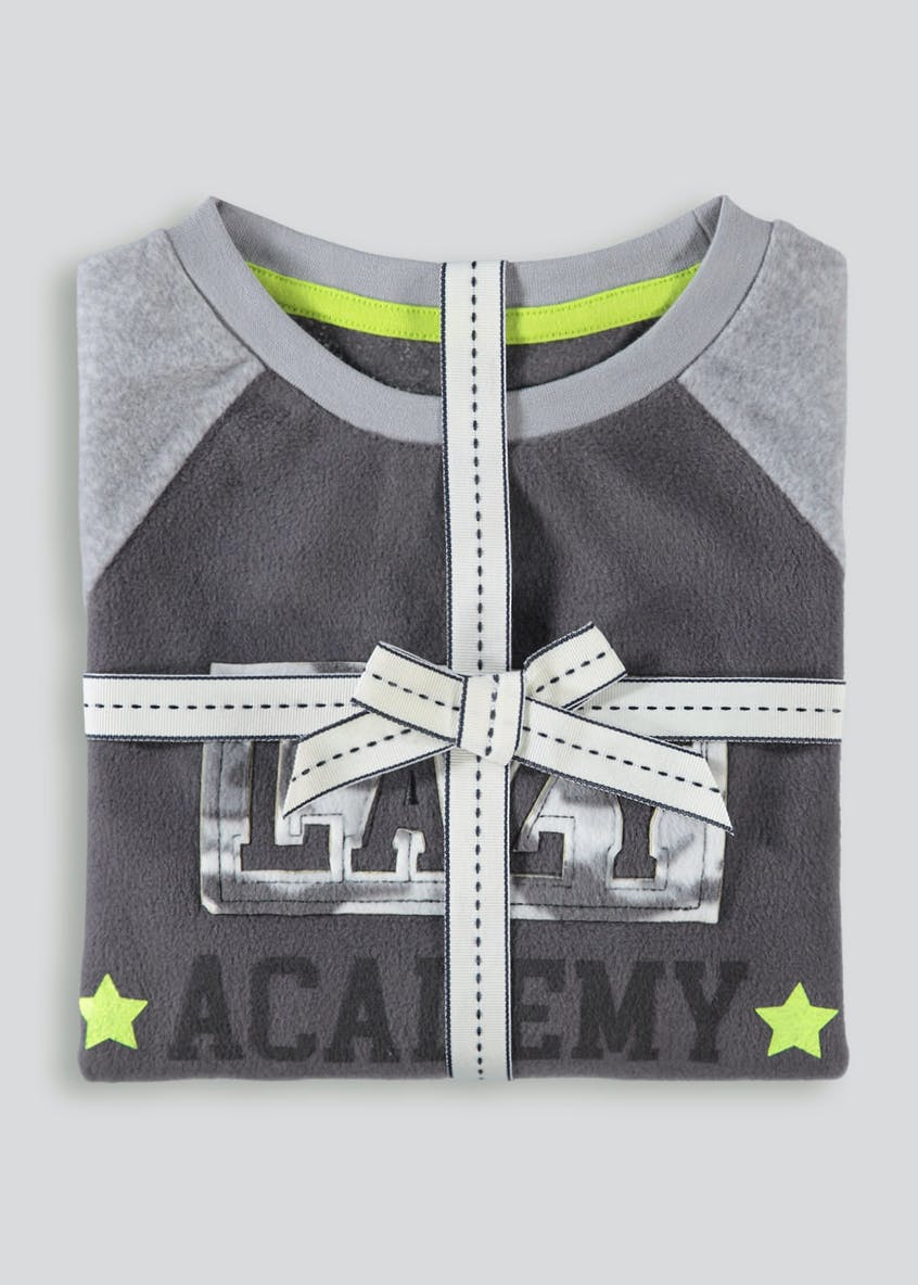 Boys Camo Fleece Pyjama Set (5-13yrs)