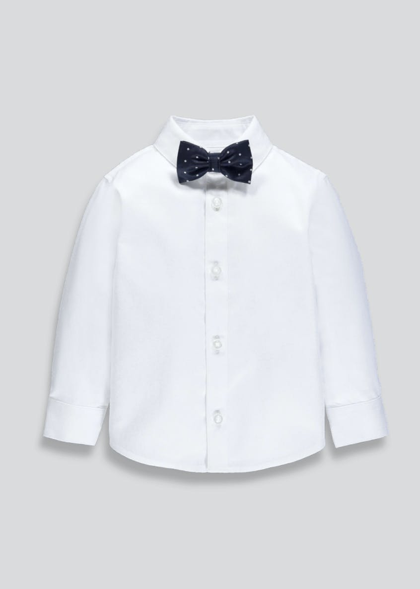 Boys Occasion Shirt & Bow Tie Set (6mths-5yrs)