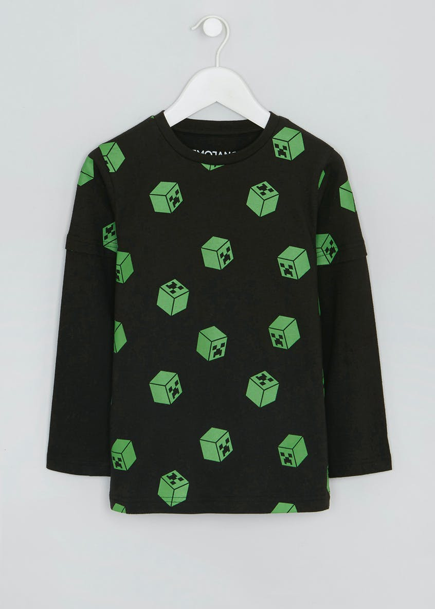 Kids Minecraft Long Sleeve T-Shirt (6-10yrs)