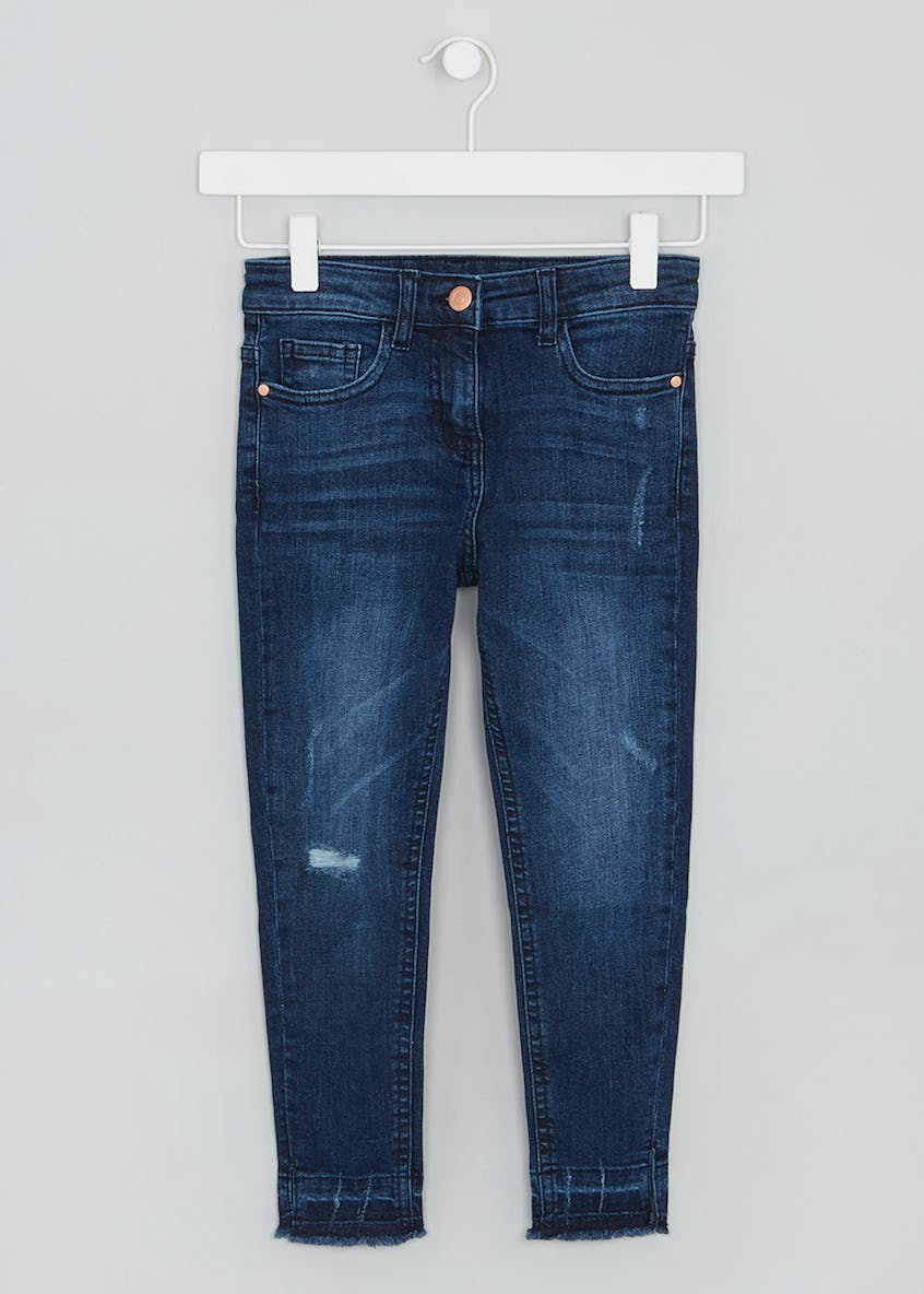 Girls Distressed Jeans (4-13yrs)
