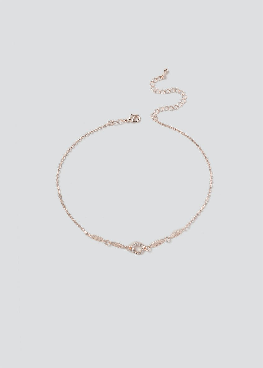 Filigree Circle Choker