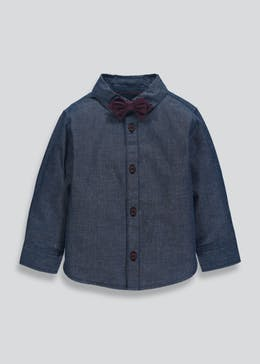 Boys Shirt & Bow Tie Set (6mths-6yrs)