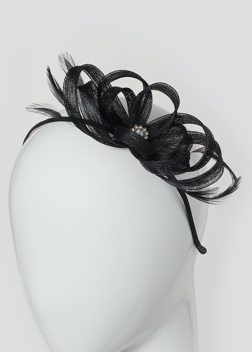 Loop Flower Fascinator Headband