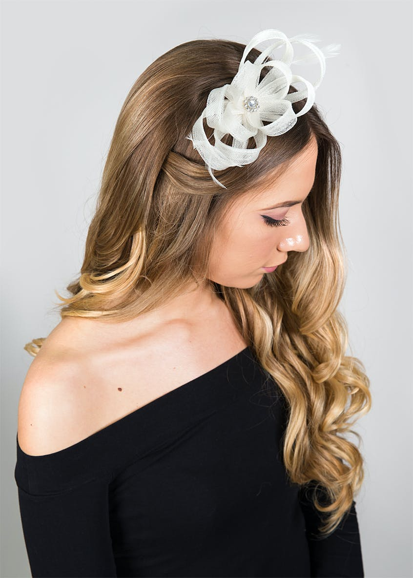Loop Flower Fascinator