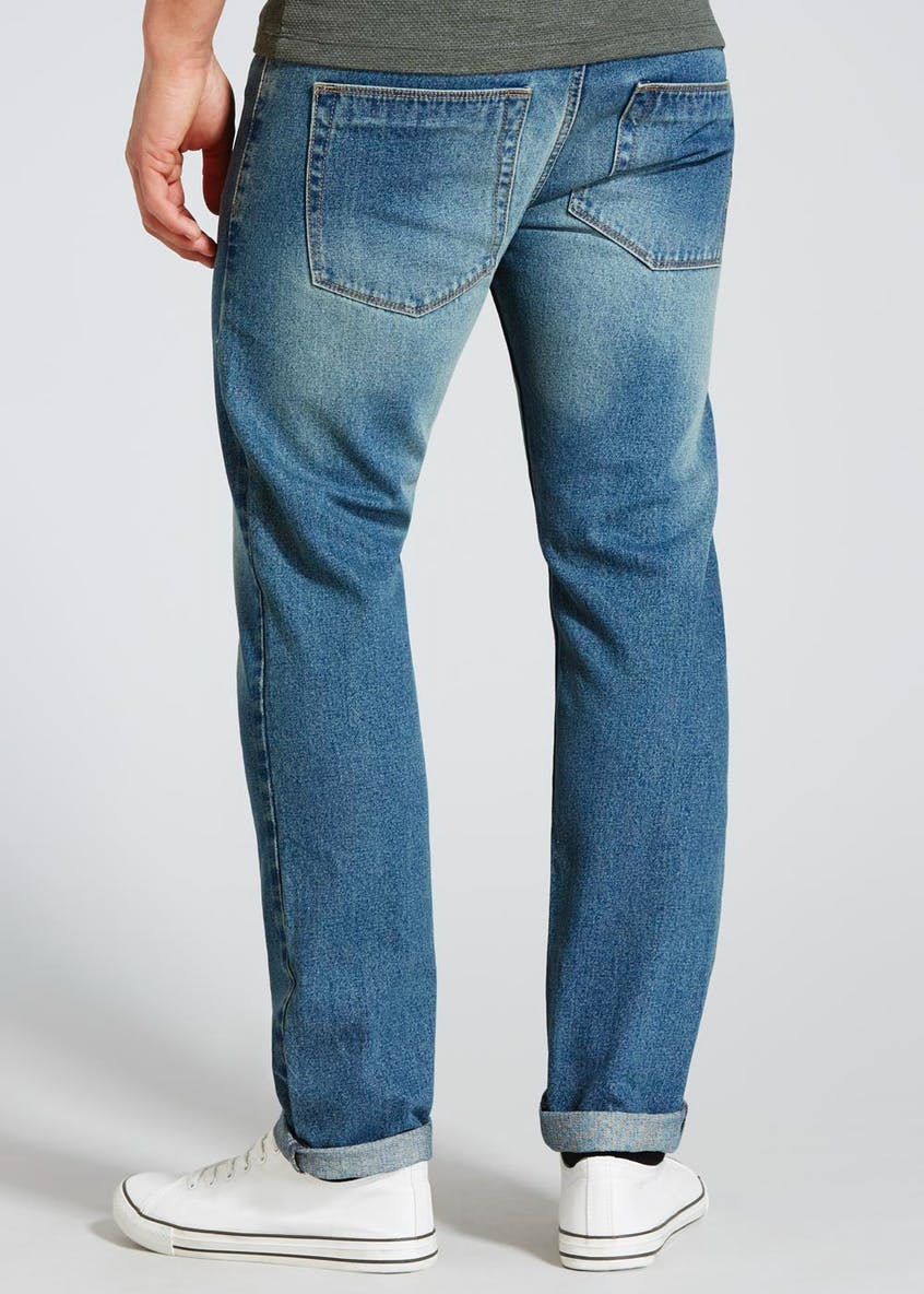 Slim Fit Midwash Jeans