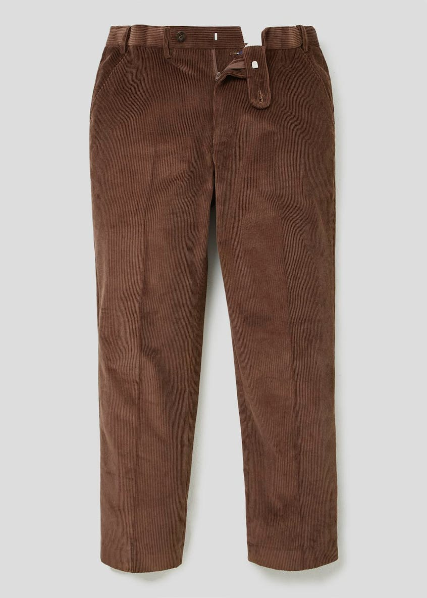 Lincoln Flexi Waist Cord Trousers