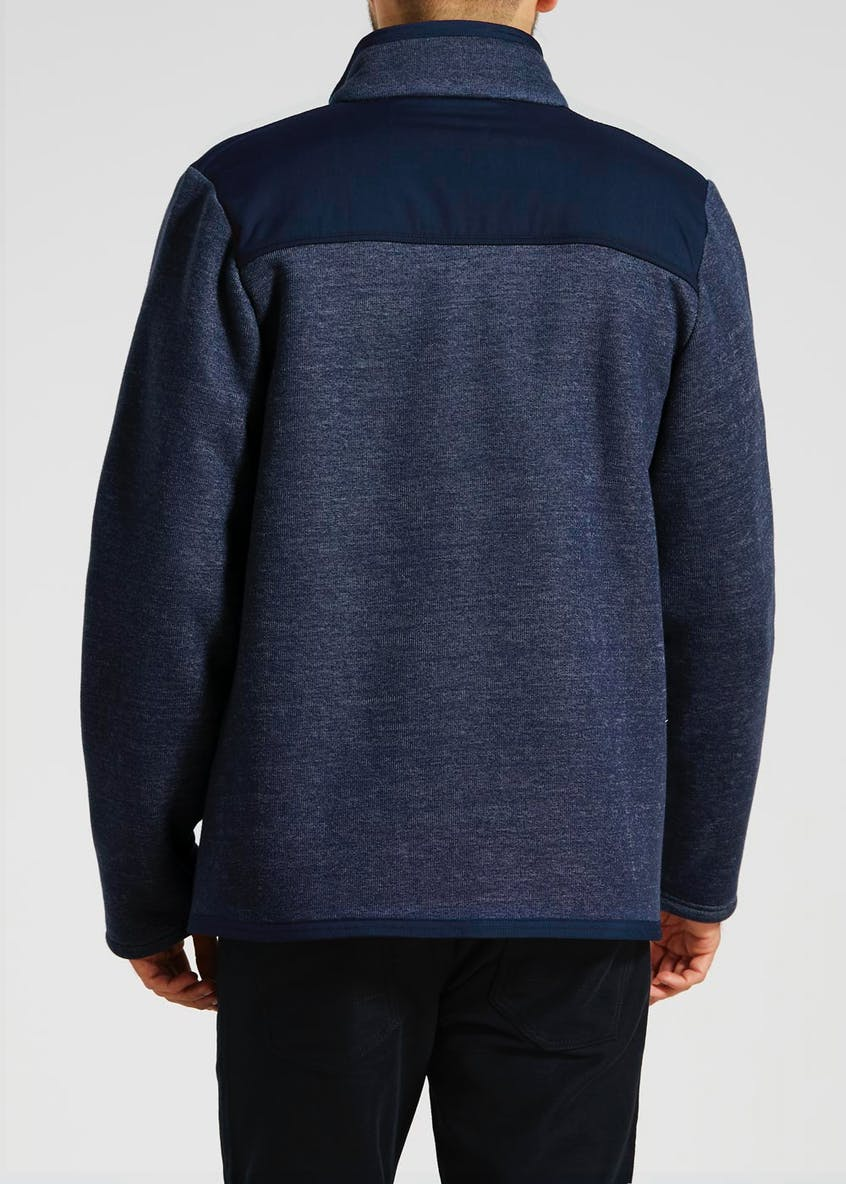 Lincoln Panel Zip Through Fleece