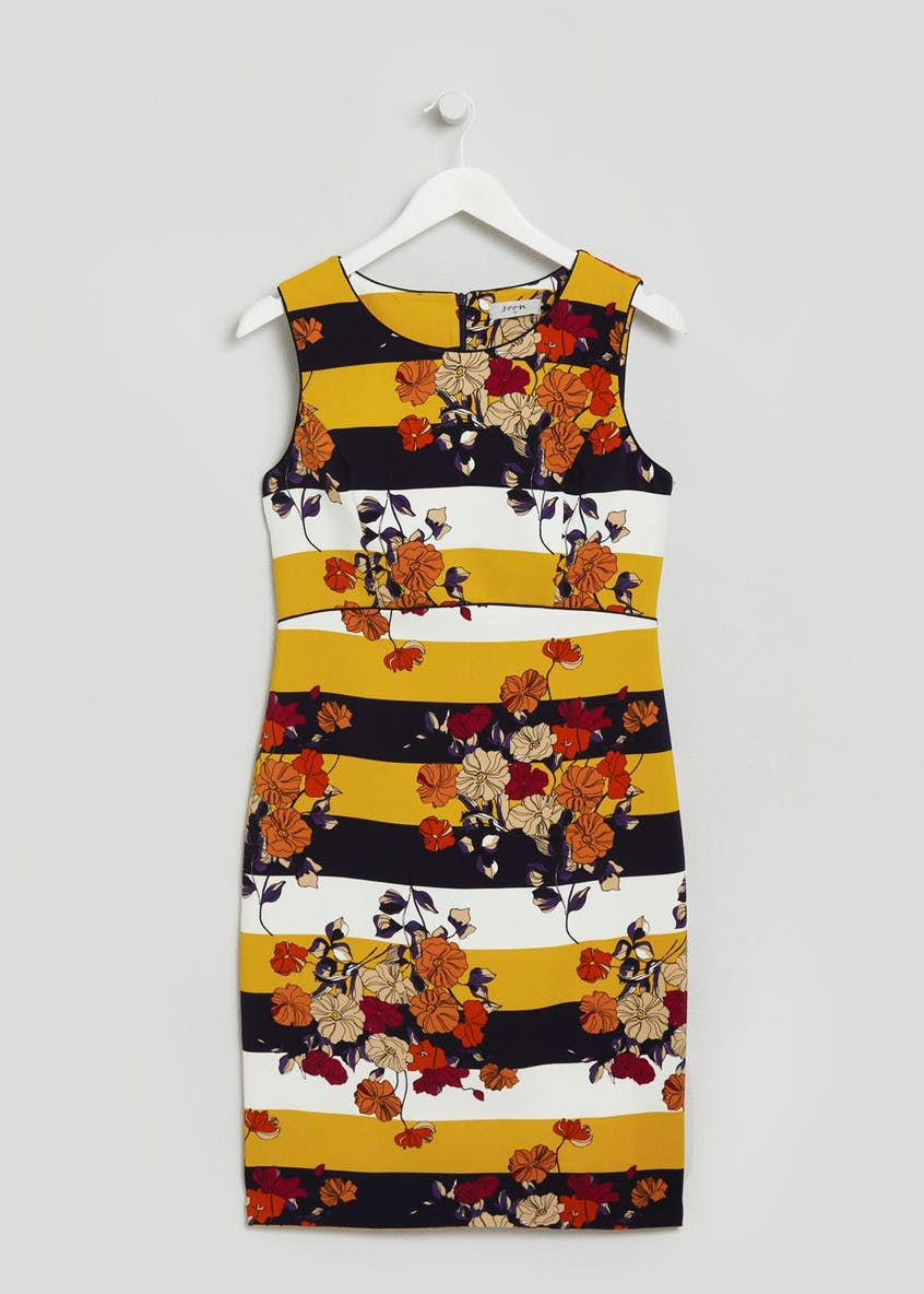 Soon Floral Stripe Shift Dress