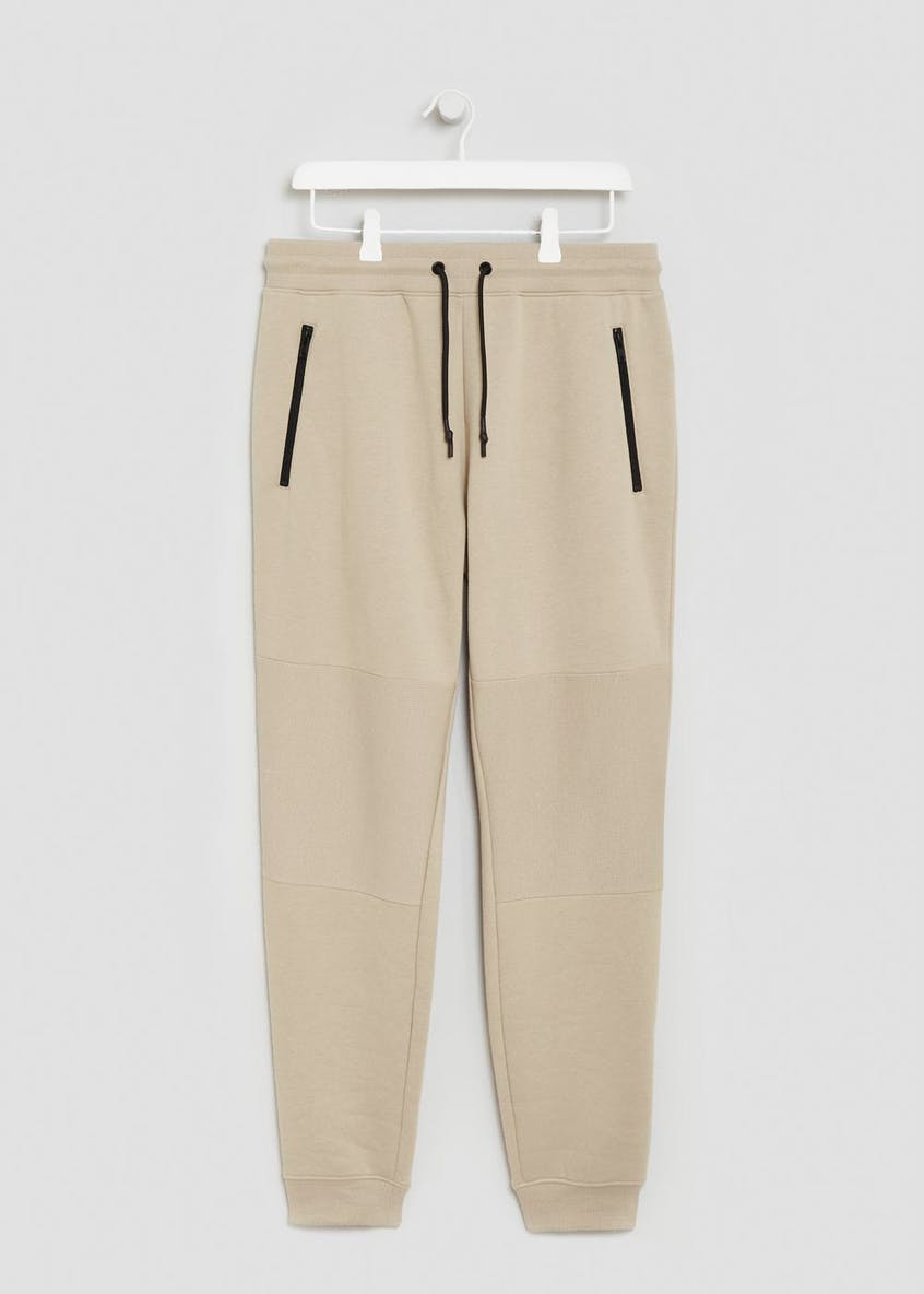 Slim Fit Panel Cuffed Jogging Bottoms