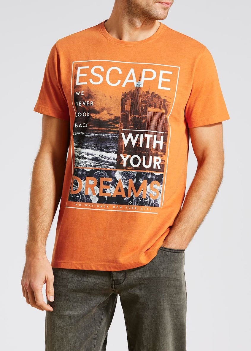 Escape Slogan T-Shirt