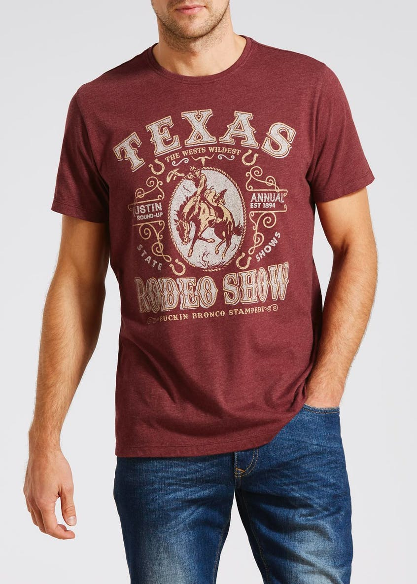 Texas Rodeo Slogan T-Shirt