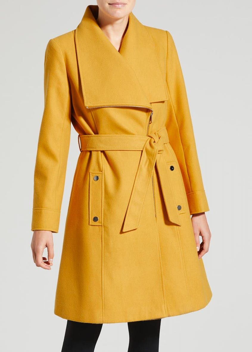 Formal Belted Coat
