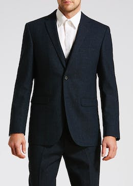 Edwards Tailored Fit Donegal Suit Jacket