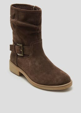 Soleflex Real Suede Ankle Boots