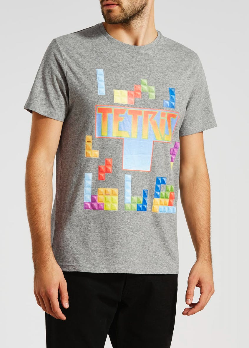 Retro Tetris Graphic T-Shirt