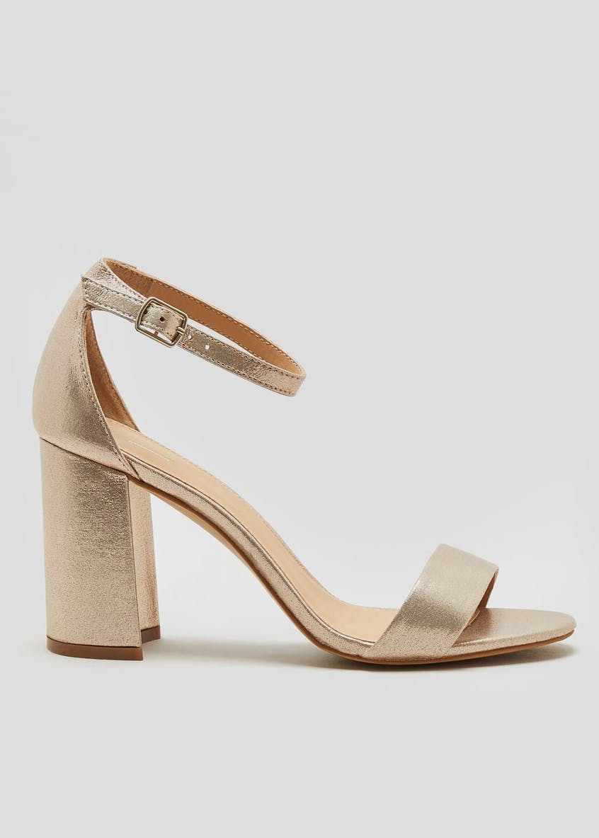 Block Heel Strappy Sandals