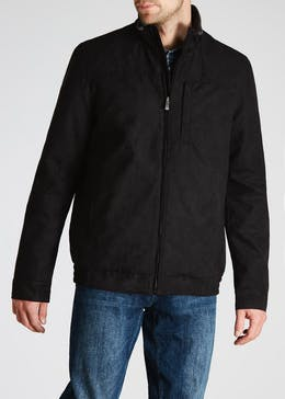 Lincoln Faux Suede Short Jacket