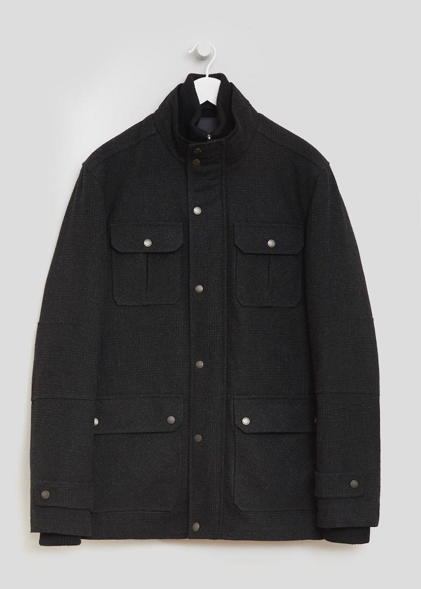 Lincoln Longline Wool Coat