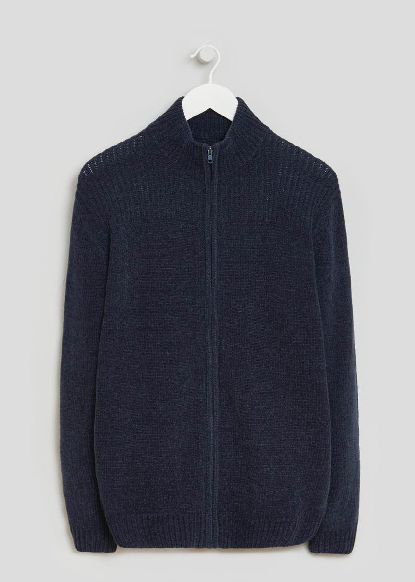 Lincoln Chenille Zip Through Cardigan