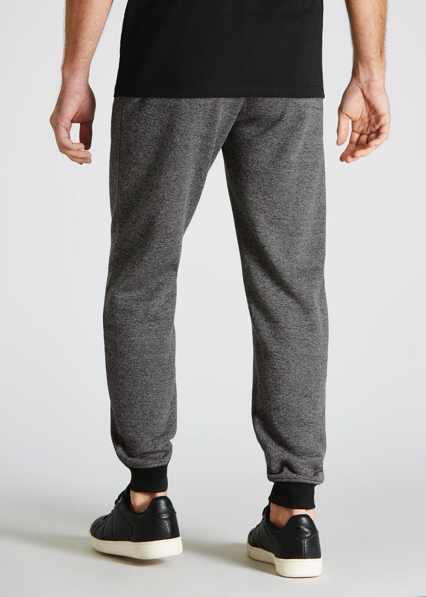 Fine Stripe Cuffed Jogging Bottoms