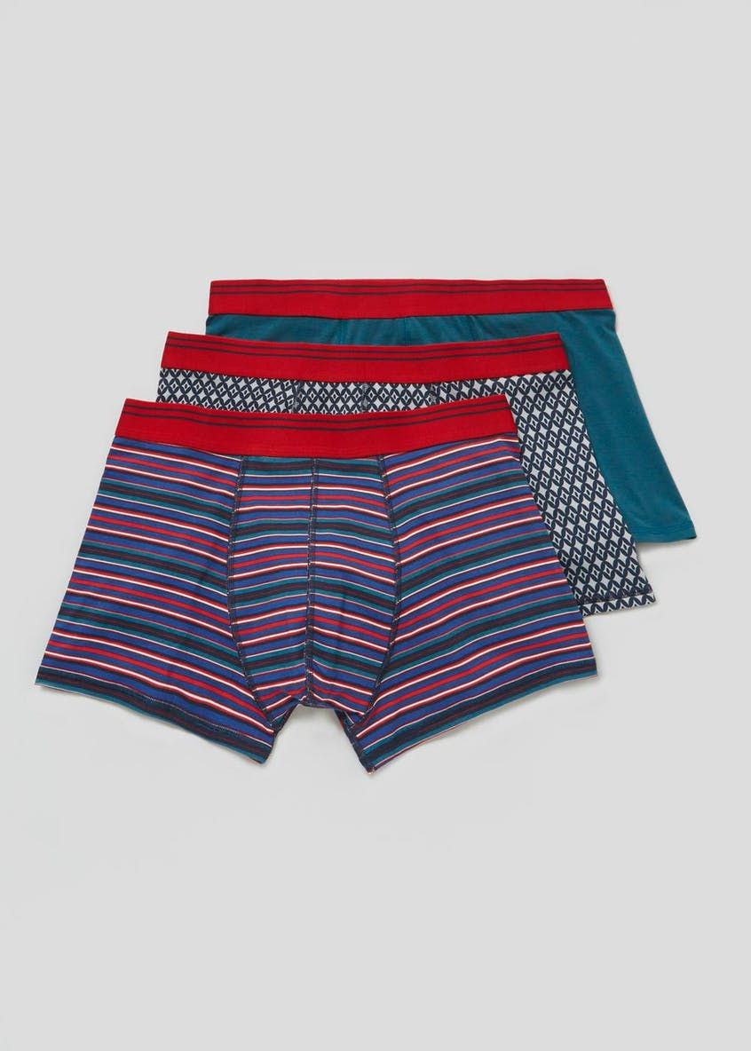 3 Pack Hipster Trunks