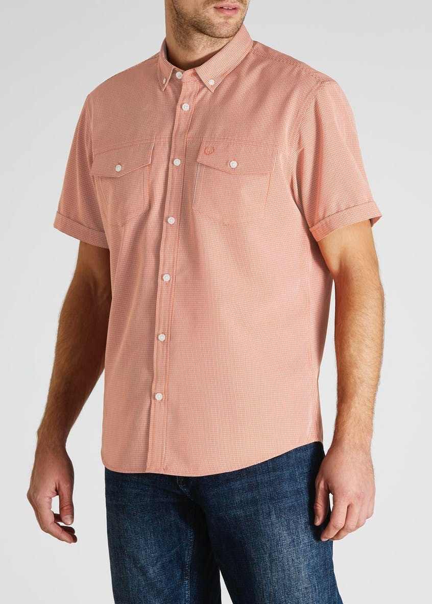 Lincoln Check Short Sleeve Pilot Shirt