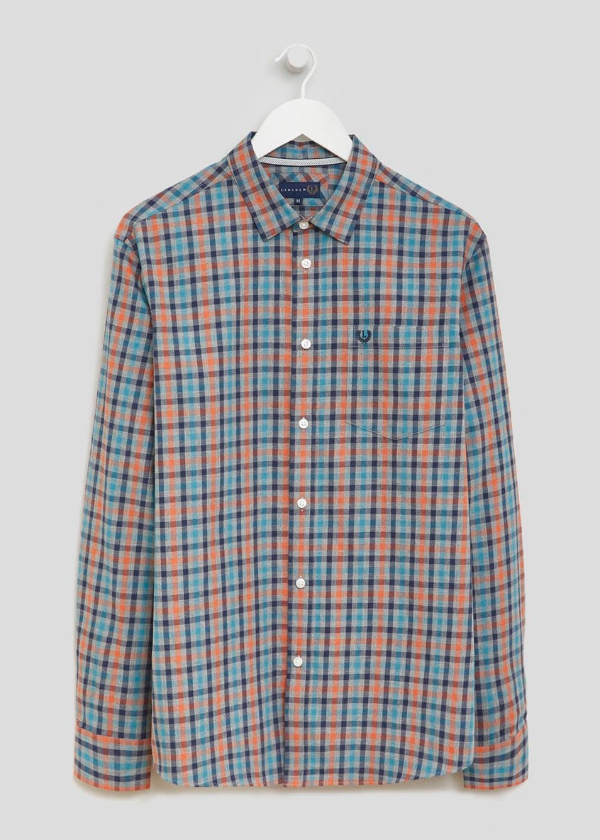 Lincoln Long Sleeve Gingham Check Shirt
