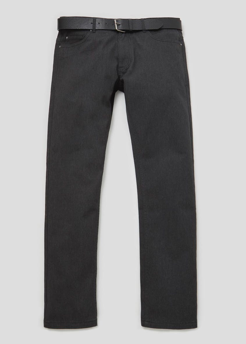 Straight Fit Bedford Cord Trousers