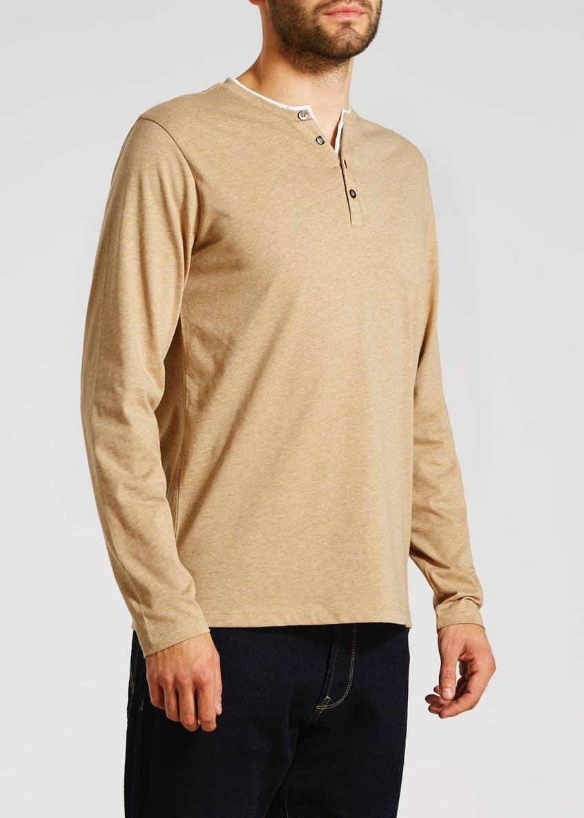 Mock Layer Long Sleeve T-Shirt