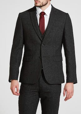 Davis Slim Fit Donegal Suit Jacket