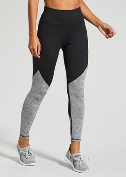 25f7894b508909 Womens Gym Leggings & Sport Bottoms in Black & Grey – Matalan
