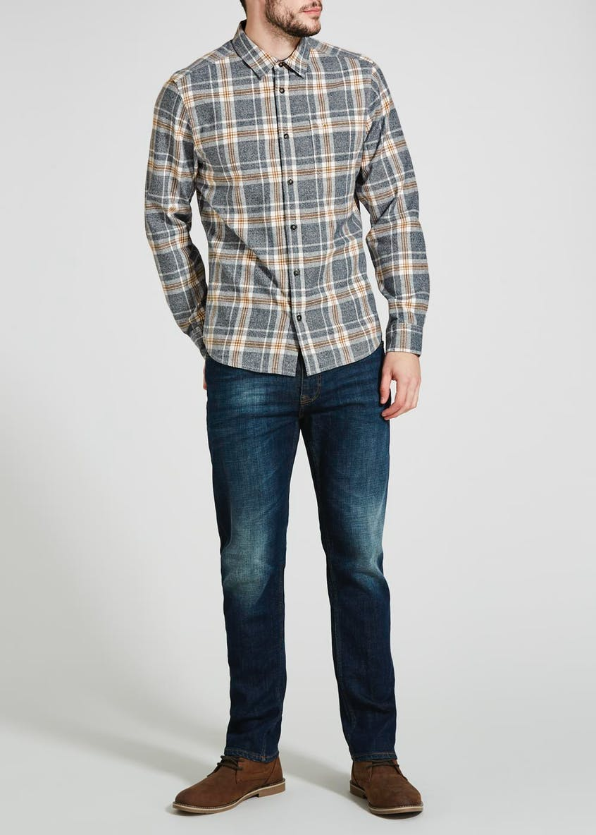 Morley Long Sleeve Marl Check Shirt