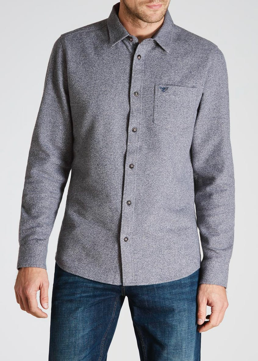 Morley Long Sleeve Textured Shirt