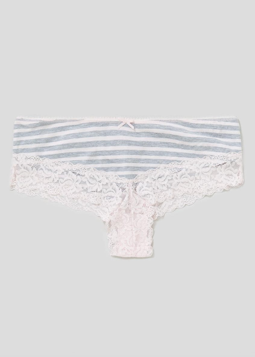 Stripe Brazilian Knickers